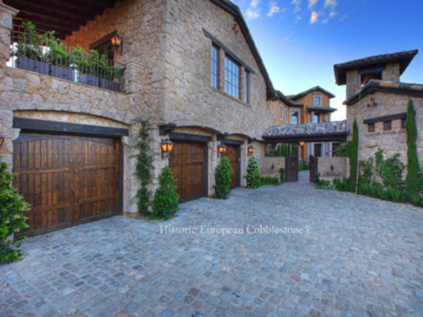 Antique European Sandstone Cobblestone – Not Your Typical Cobblestone!