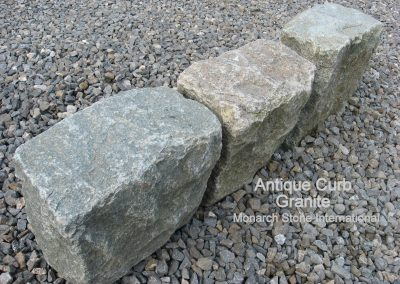 64. Antique Granite Curb