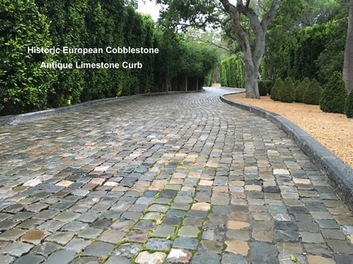 Historic European Cobblestone Gallery