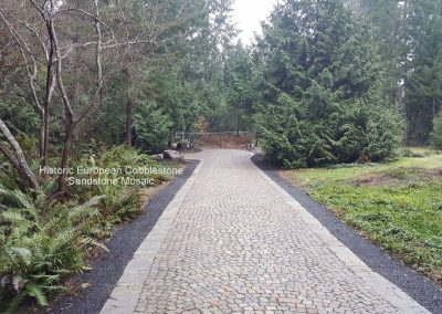 77. Antique Sandstone Mosaic Cobble, Gig Harbor WA