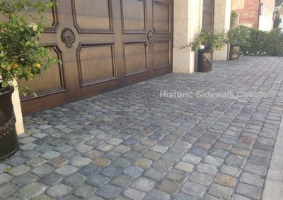 Historic Sidewalk Cobble, Newport Bch CA