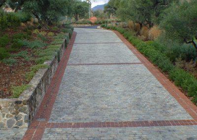 H306-Historic Sidewalk Cobble, Napa CA