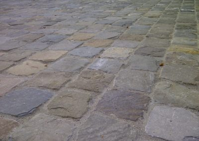 2. Historic Sidewalk Cobble