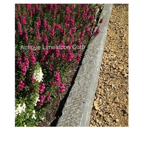 Granite or Limestone Curb for Driveway, Walkways