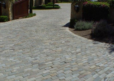Antique SANDSTONE cobblestone 5x8