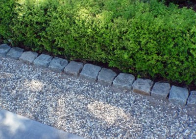 37. Antique Granite Cobble For Edging and Borders