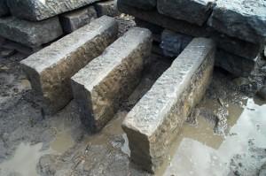 Antique Granite Curb