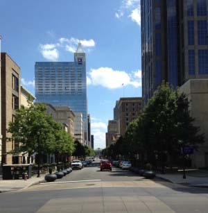 Cobblestone Streets – Raleigh, North Carolina