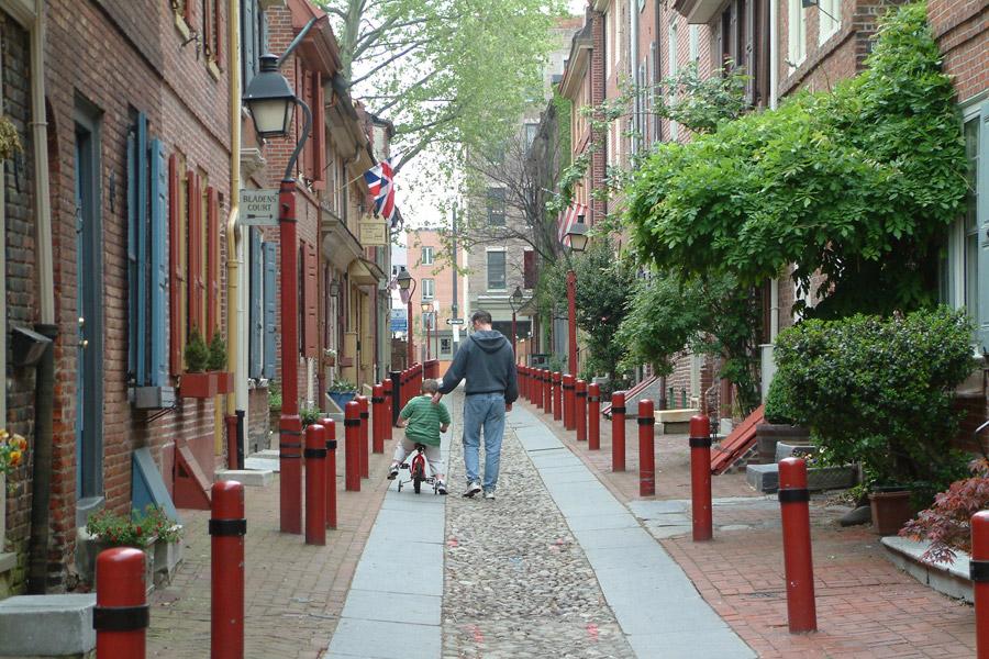 Cobblestone Streets – Philadelphia, Pennsylvania