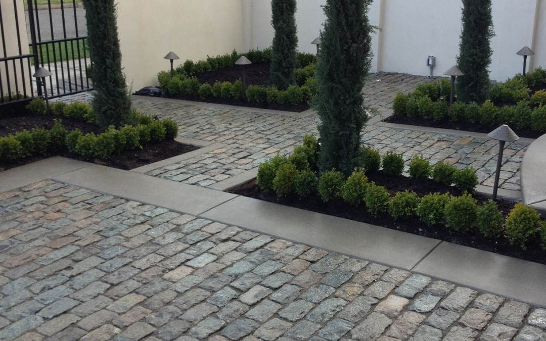 Granite Cobblestone Pavers – Durable Choice for Driveways, Walkways and More!