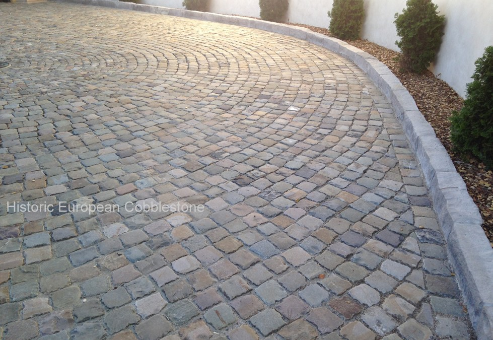 Comparing Antique Granite to Antique Sandstone Cobblestone