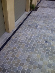 Installation of Antique Cobblestone