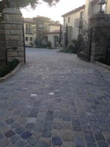 Historic Sidewalk Cobble