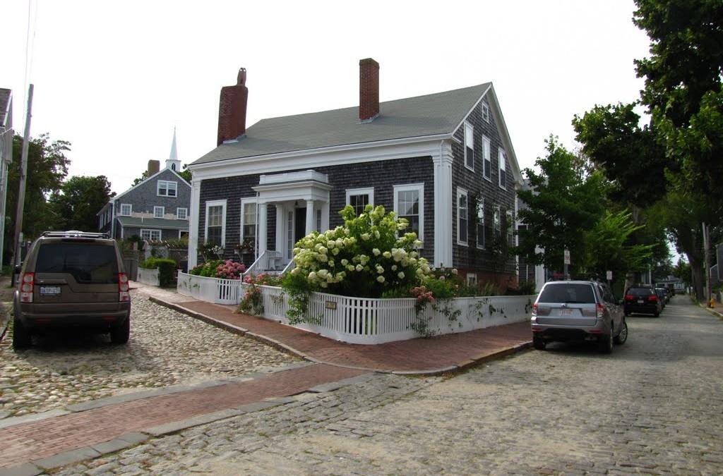 Cobblestone Streets, Nantucket Island, MA