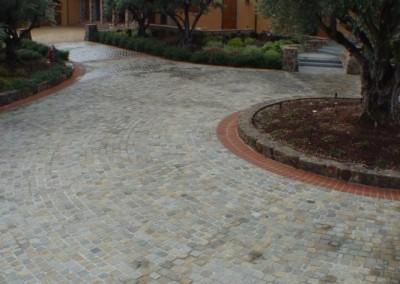 H307-Historic Sidewalk Cobble, Napa CA