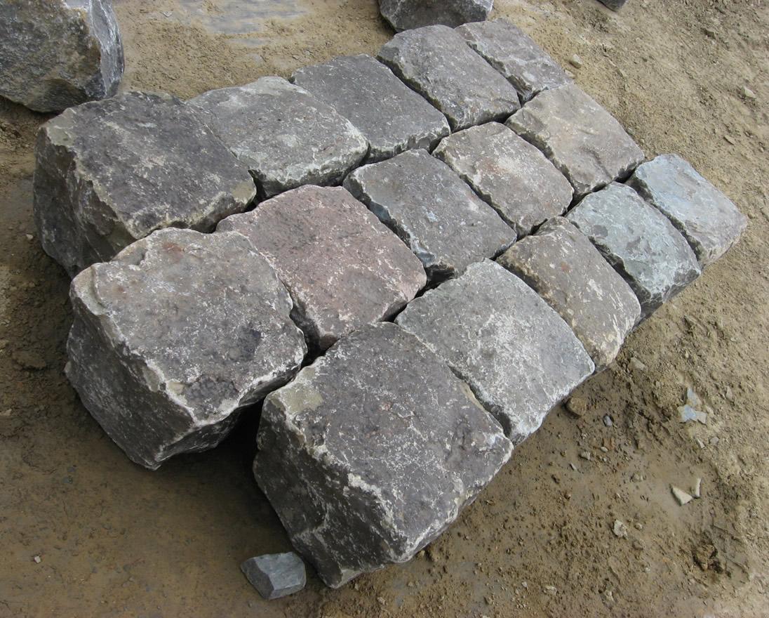 Granite Stone Sandstone : Antique reclaimed sandstone cobblestone