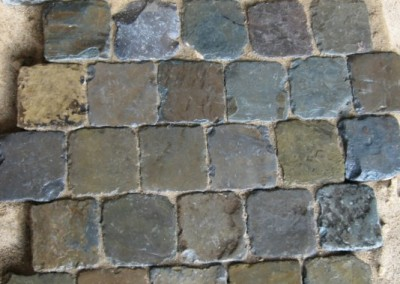 3. Historic Sidewalk Cobble® shown 'wet'