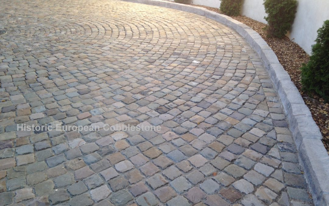 Granite and Sandstone Cobblestone Featured in May Newsletter
