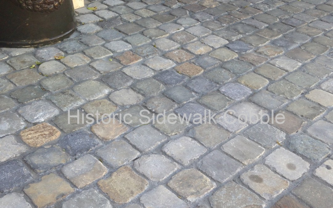 Historic Sidewalk Cobble®