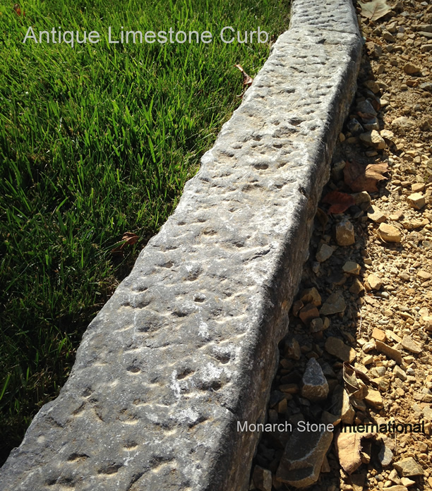 ANTIQUE RECLAIMED CURB - Antique Reclaimed Old Granite