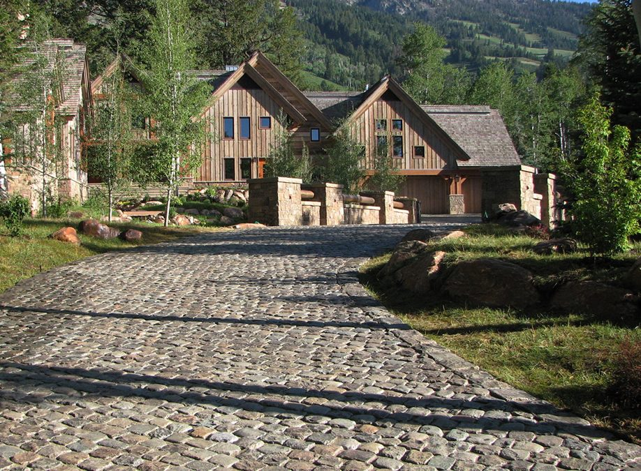 Natural Stone Driveway Options
