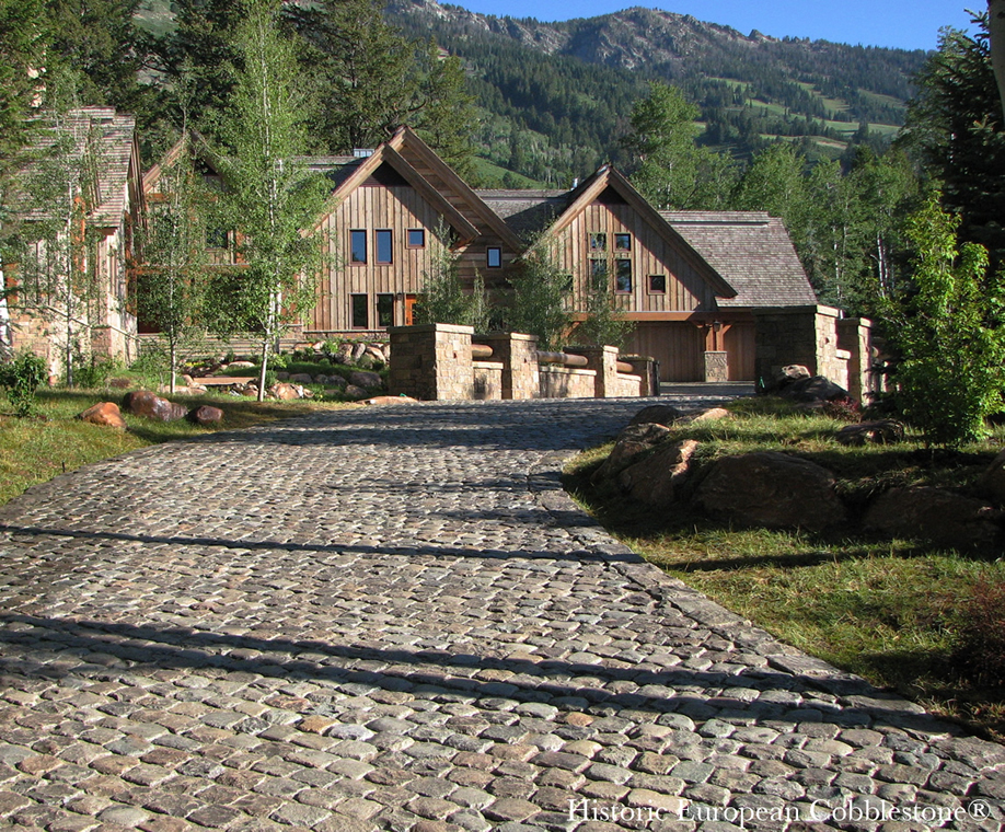 Memorable Homes Begin With The Driveway Antique