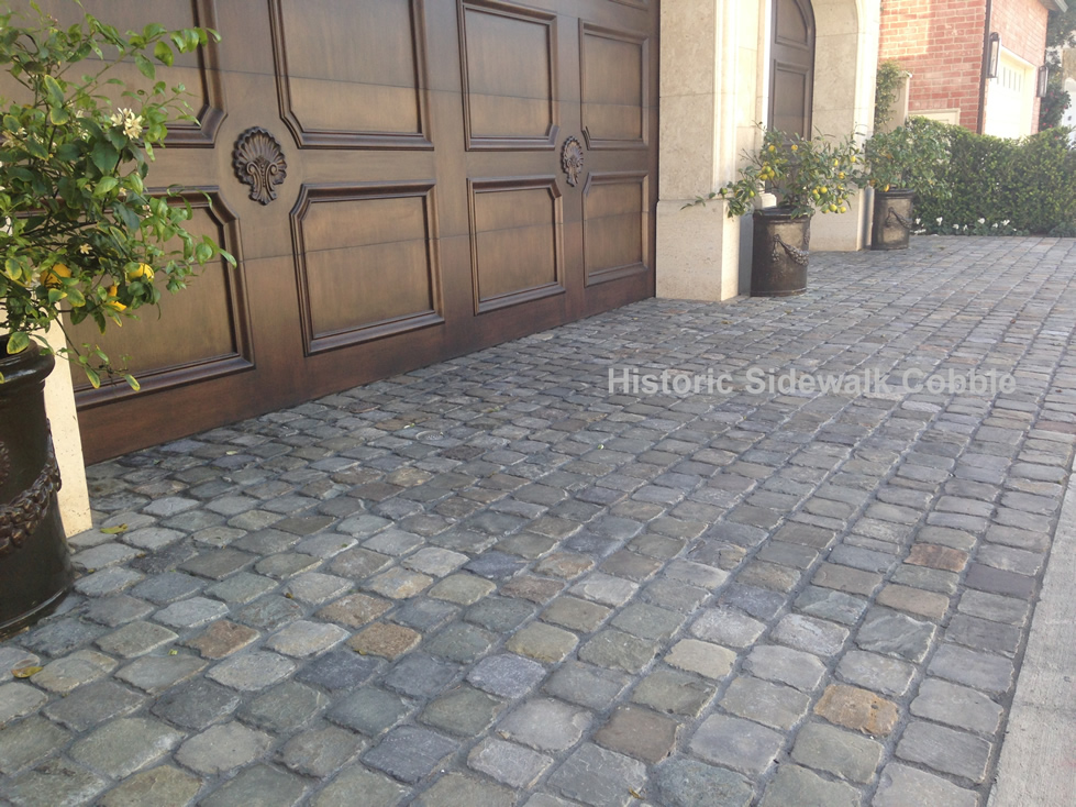 Historic Sidewalk Cobble Antique Reclaimed Old Granite