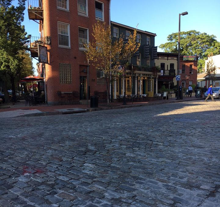 Cobblestone Streets in the USA – Fells Point, Baltimore MD