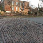 St Louis Cobblestone streets - historic Shaw District crosswalks