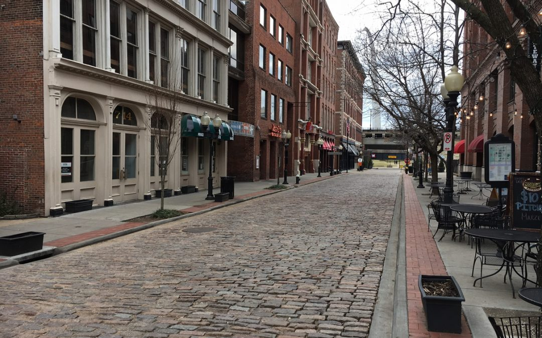 St Louis Cobblestone Streets
