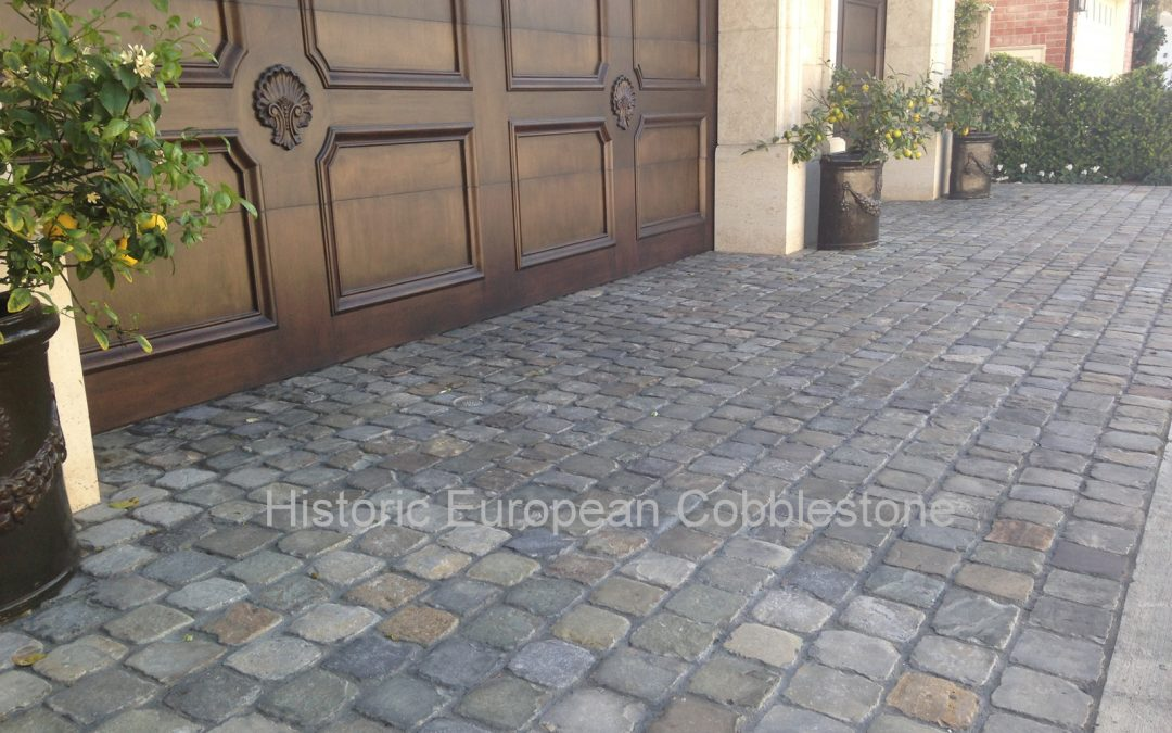What Are Old Historic Sidewalk Cobble Pavers?