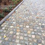 Historic European Cobblestone SANDSTONE cobble 6x6x2 Limestone Curb