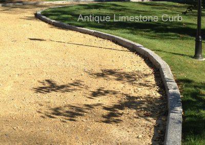 H408-Limestone Curb