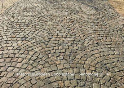 H235-Sandstone Mosaic Fan Pattern