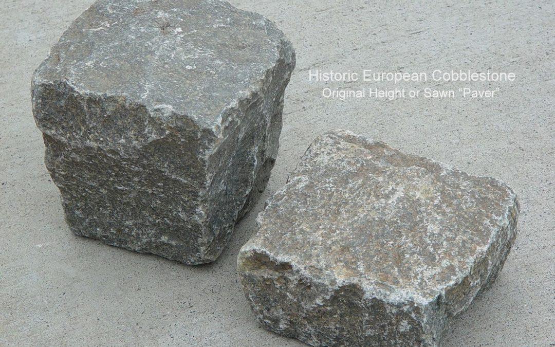 Antique Granite Cobble Full-Sawn